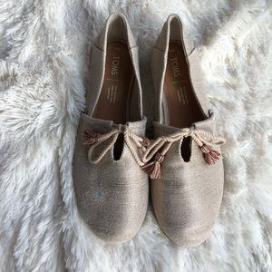Toms with Tassels